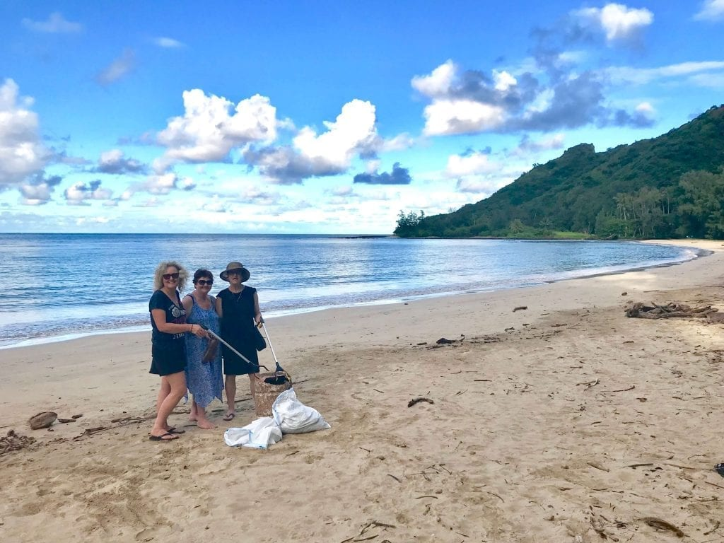 Eco tours and beach cleanups